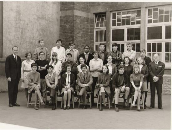 Une classe de secondaire