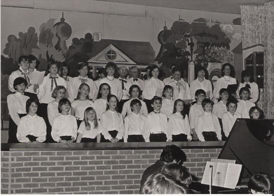 Groupe de chant choral