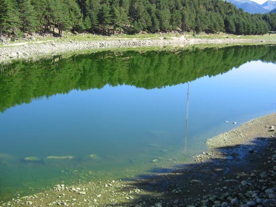 le lac d'Engolaster (Andorre)
