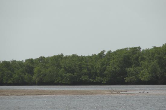 Une baie au large de Mangue Seco