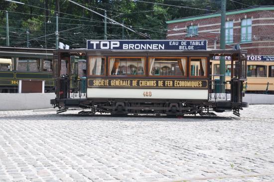 Un ancien tram