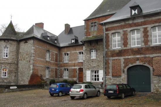 Le château du Fosteau (Hainaut)