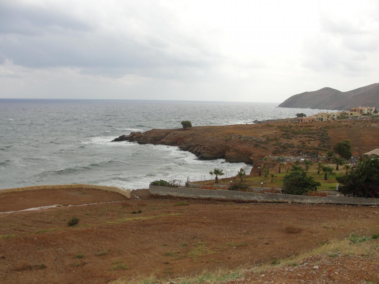 La côte entre Panormo & Rethymno