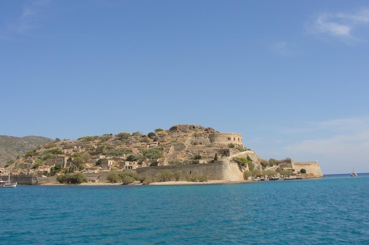 La forteresse de Spinalonga