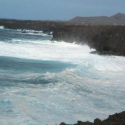 Les Canaries - l'océan