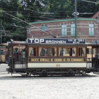 Woluwé - le musée du tram